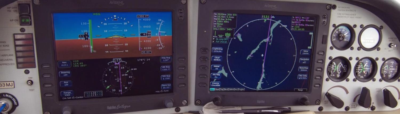 Glass Cockpit Cirrus SR20